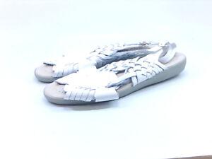 Softspots Women's Shoes na56u4 Flat Sandals, White, Size 8.0