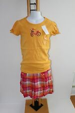 Gymboree Sunflower Smiles Top Shirt Girls Girl Size 10 NWT NEW Flannel Skirt