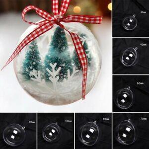 Yuciya 100pcs Palle di Natale Palle di Albero di Natale Bauble Porta Appesi a Parete Ornamenti Decorazioni Palla di Natale Confezione Regalo Festa di Nozze Forniture per la Casa Decorazioni per Feste