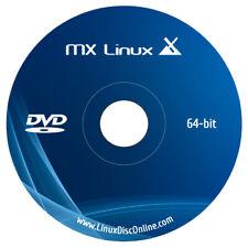 Latest MX Linux 19 Desktop 32 bit and 64 Bit on Bootable DVD New Release DVD