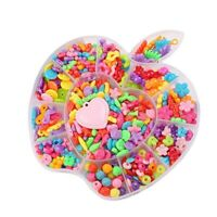 Bead Kits for Jewelry Making Colorful Acrylic Craft Beads for Kids Girls Jewelry