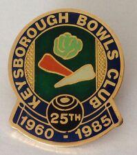 Keysborough Bowling Club Badge 1985 Anniversary Rare Vintage (K2)
