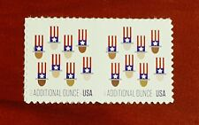 #5174 (15 cents Forever) - 2 pcs - Additional Ounce Uncle Sam's Hat 2017 Mint NH