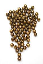 Beads Gold Onion Beads 9-10mm