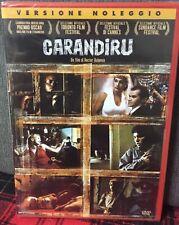 Carandiru DVD Hector Babenco da Estacao Carandiru Varella Nuovo Sigillato Rent