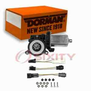 Dorman Front Right Power Window Motor for 1994-2004 GMC Sonoma Electrical is