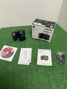 GE X2600 16.1MP Digital Camera - Midnight Blue in Great condition Works Tested