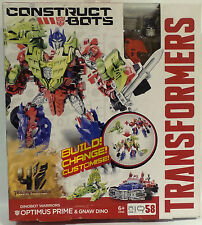 TRANSFORMERS : OPTIMUS PRIME & GNAW DINO - BUILD, CHANGE, CUSTOMISE KIT (TK)
