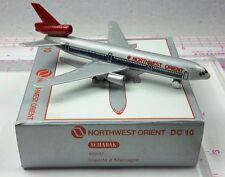 New Vintage Schabak NORTHWEST ORIENT Douglas DC-10 Diecast 1:600 scale