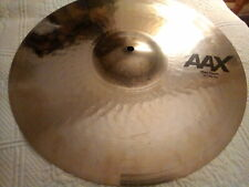 "Sabian Aax 17"" Thin crash cymbal brillant finish !"