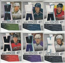 2008-09 SPX ROOKIES JERSEY /1299 6 RC CARD LOT