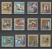 SPAIN (1961) - MNH COMPLETE SET - SC SCOTT 992/1003 25th ANNI. NATIONAL UPRISING