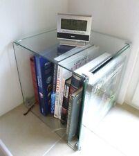 Standregal Glaswürfel Beistelltisch 40x40x40 cm Klarglas / Glaswürfelsystem