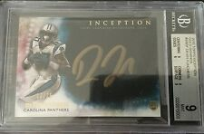 2015 Topps Inception Gold  Devin Funchess RC Rookie AUTO 13/25 BGS 9 Auto 10