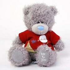 "CARTE Blanche Me to You Tatty Teddy Bear Christmas Scene Tshirt 7"" 18cm"
