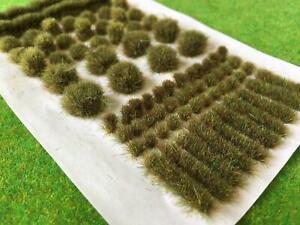 Autumn - Big True Grass Tufts Model Scenery Terrain Wargame Basing Natural Shape