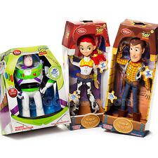 Disney Toy Story Talking Woody Buzz Lightyear Jessie Action Figure Dolls Plush