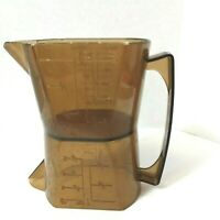 VINTAGE Made In Hong Kong DOUBLE SIDED MEASURING CUP - 1 & 1 CUP