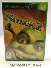 SHREK 2 - XBOX - VIDEOGIOCO NUOVO SIGILLATO - NEW SEALED PAL VERSION