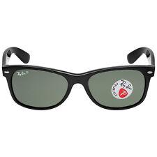 Ray Ban New Wayfarer Polarized Green Sunglasses RB2132 901/58 55-18