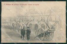 Napoli Ottaviano Lapilli Carretto cartolina XB0255