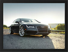 AUDI A7 NEW A3 FRAMED PHOTOGRAPHIC PRINT POSTER