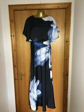Coast Dress Ladies Black Maxi Ballgown Wedding Guest UK SIZE 8