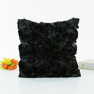 3D Flower Pattern Cushion Cover Pillowcase Sofa Pillow Decorative Pillow Bedding