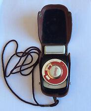 Vintage Soviet USSR Leningrad exposure meter