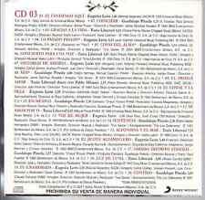 rare BOLERO 60s 70s CD slip RANCHERA Luz de luna GRACIAS A LA VIDA Alfonsina&mar