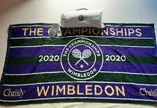 Offical Wimbledon Men's Towel 2020 in bag