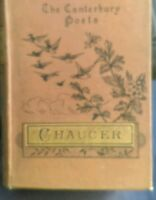 The Canterbury Poets CHAUCER  1888'