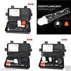 5000LM Super Bright XM-L T6 LED Adjustable Focus Zoomable Flashlight Torch Lot