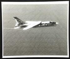 Vintage Navy VF-194 Fighter Jet Airplane 207 In-Flight Photo. Vietnam-Era 1960's