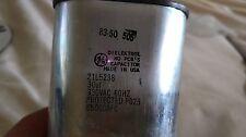 General Electric Dielektrol Capacitor 30UF, 330VAC, 21L5238 Protected P023