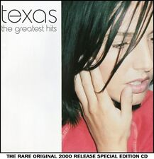 Texas - The Very Best Greatest Hits Collection - RARE CD 90's Sharleen Spiteri