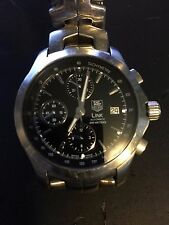 TAG Heuer Link CJF2110.BA0594 Calibre 16 Men's Chronograph Stainless Steel