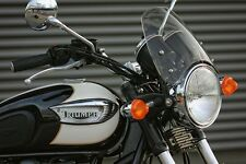 DART FLYSCREEN TRIUMPH BONNEVILLE/T100 2001-2015 Windshield Midnight Tint