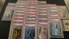 1939 OPC V276 Fighting Forces Trading Cards Complete Set of 48 (36 PSA Graded)
