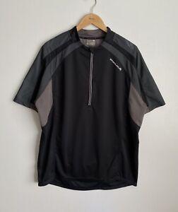 Endura Hummvee S/S Jersey Cycling Shirt Men's XXL Sport Black 1/2 Zip