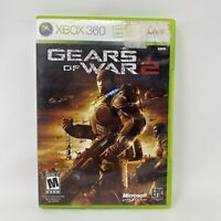 Gears of War 2 (Microsoft Xbox 360, 2008) No Manual Tested Working