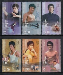 HONG KONG Bruce Lee's Legacy MNH set