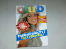"""REVUE ANGLAISE """"CLUB INTERNATIONAL""""  EROTIQUE VOLUME 11 NUMBER 12*"""
