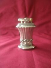 VINTAGE SILVER PLATED RONSON NEWPORT TABLE LIGHTER MADE IN ENGLAND