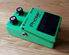 Boss PH1 Silver Screw Japan 1980 Phaser effects pedal Vintage MIJ Long Dash PH-1