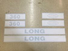 Long 360 Hood Decals