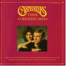 Carpenters ‎– Their Greatest Hits / A&M Records CD 1993 ‎– 397 186-2