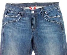 Lucky Gene Montesano USA Sundown Wide Leg Flare 10x30 Stretch Jeans MADE in USA!