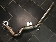 VAG 2.0 TDi CR Engine DPF Removal Stainless Exhaust Pipe