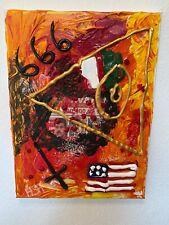 """Expressionismus POP Art Kunst Gemälde: """"Maduro"""" Artist: FISH"""